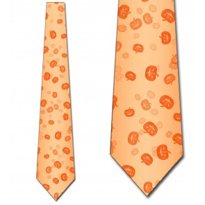 Faded Pumpkins Necktie