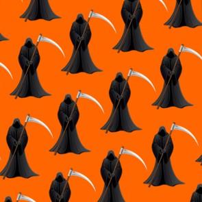 Grim Reaper Repeat - Orange Necktie