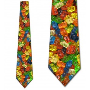 Gummy Bears Allover Necktie