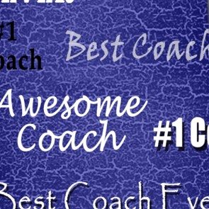 Number One Coach - Blue