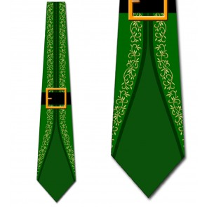 Elf's Suit - Green Necktie