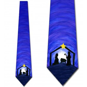 Nativity Scene Necktie
