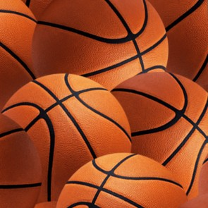 Basketballs Allover Necktie