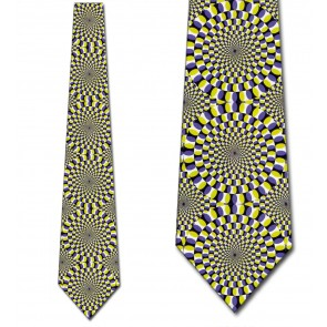 Hypnotic Vision Yellow Necktie