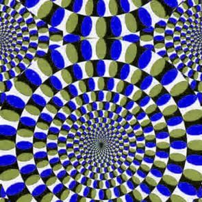Hypnotic Vision Blue Necktie