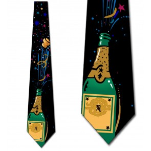 Champagne Celebration Necktie