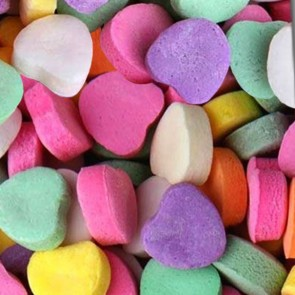 Candy Hearts - Plain Neck Tie