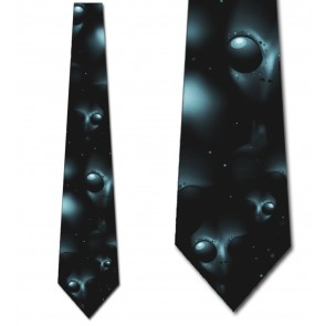 The Gray's Alien Necktie