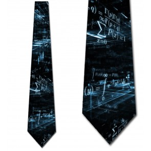 Cyber Equations Necktie