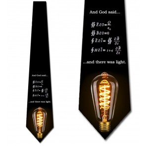 There Was Light Necktie