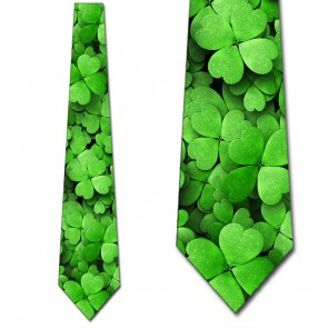 Four Leaf Clovers Necktie
