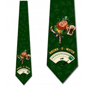 Drunk-O-Meter (Censored) Necktie