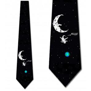 Swingin' On the Moon Necktie