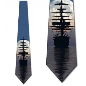 Ahoy Matey! - Three Rooker Ship Necktie