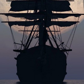 Ahoy Matey! - Three Rooker Ship Necktie
