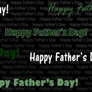 Happy Father's Day - Army Green Necktie