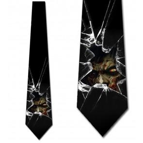 Behind the Glass Necktie
