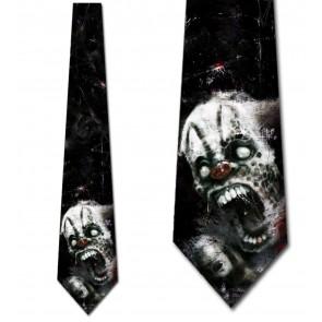 Deranged Clown Necktie