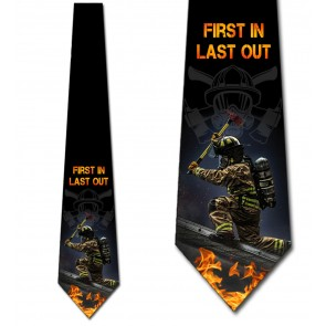First In Last Out Necktie