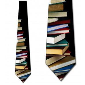Book Stack Necktie