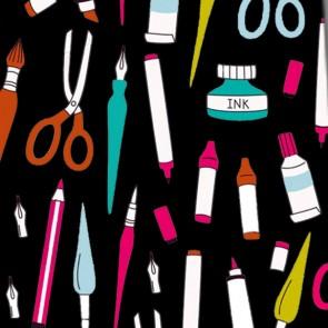 Art Supplies Necktie