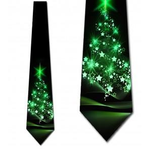 O, Christmas Tree -  Pine Green Necktie