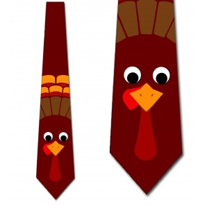 Tom the Turkey - Maroon Necktie