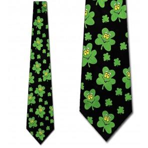 Happy Clovers Tie