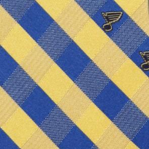 NHL St. Louis Blues Woven Check Necktie