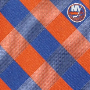 NHL New York Islanders Woven Check Necktie