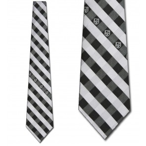 NHL Los Angeles Kings Woven Check Necktie