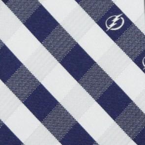 NHL Tampa Bay Lightning Woven Check Necktie