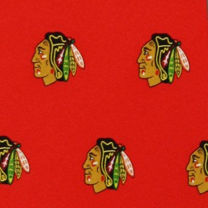 NHL Chicago Blackhawks Prep Necktie