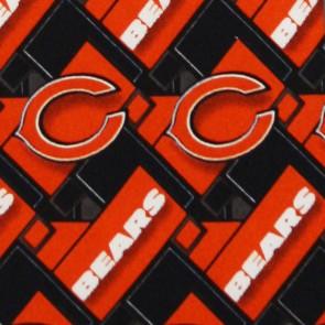NFL Chicago Bears Diagonal Necktie
