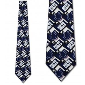 NFL Indianapolis Colts Diagonal Necktie