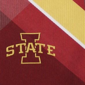 Iowa State Grid Necktie