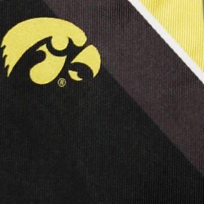 Iowa Hawkeyes Grid Necktie