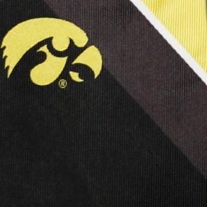 Iowa Hawkeyes Grid Necktie