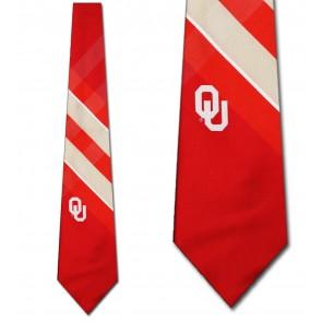 Oklahoma Sooners Grid Necktie