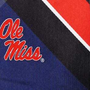 Ole Miss Rebels Grid Necktie