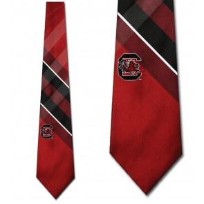 South Carolina Gamecocks Grid Necktie