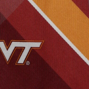 Virginia Tech Hokies Grid Necktie
