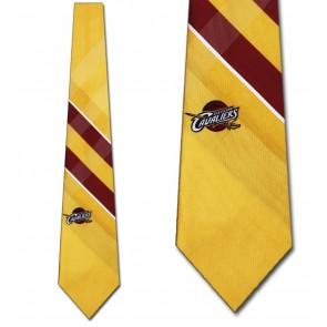 NBA Cleveland Cavaliers Grid Necktie