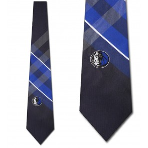 NBA Dallas Mavericks Grid Necktie