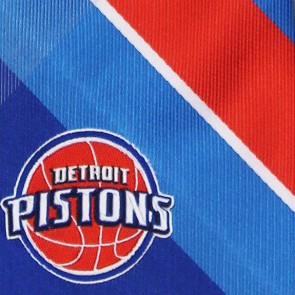 NBA Detroit Pistons Grid Necktie