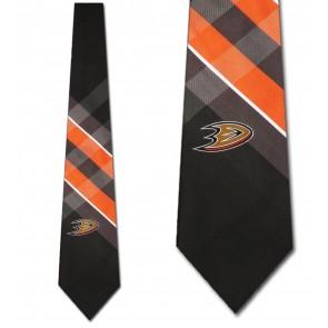 NHL Anaheim Ducks Grid Necktie