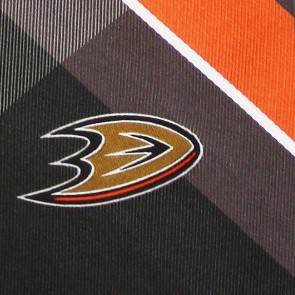 NHL Anaheim Ducks Grid Necktie