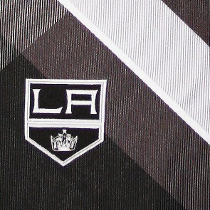 NHL Los Angeles Kings Grid Necktie