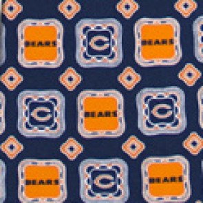 NFL Chicago Bears Medallion Necktie