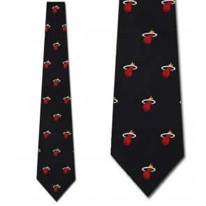 NBA Miami Heat Prep Necktie